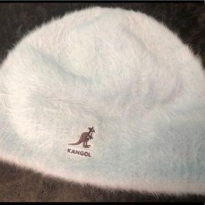 Kangol blue furgora skull cap